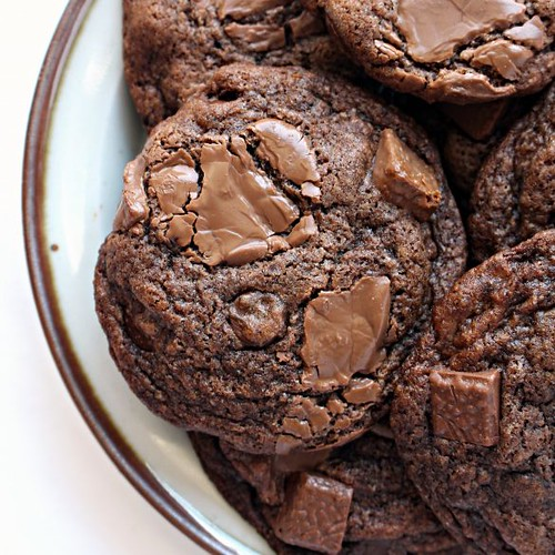 Chocolate chip mocha cookies
