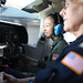 A Civil Air Patrol cadet of the Hawaii Wing gets flight training. Photo // Lisa Hoang, Civil Air Patrol