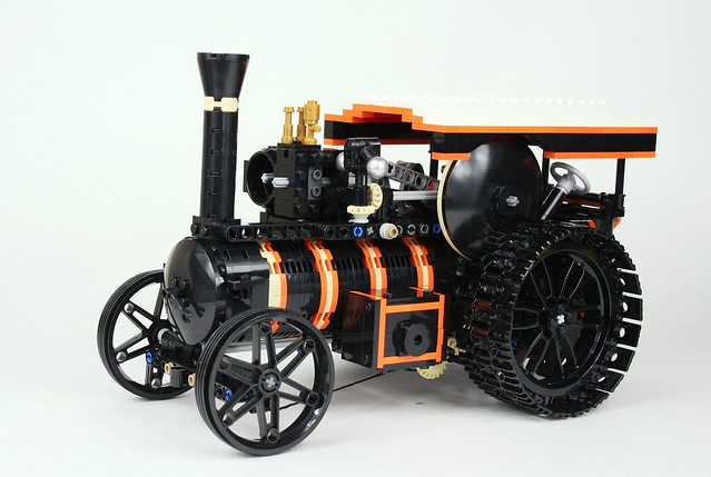LEGO Burrell Road Locomotive