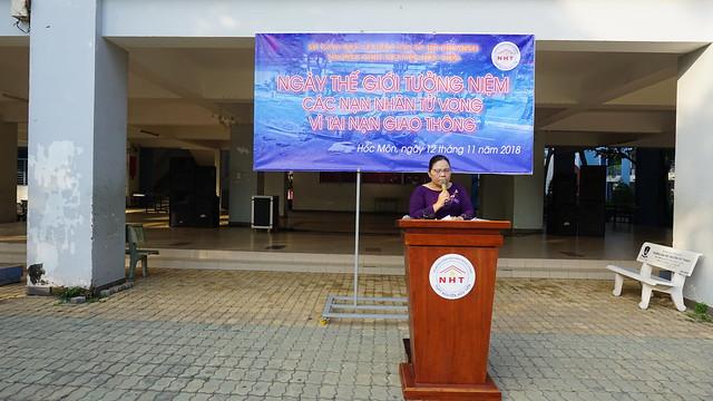 Tưởng niệm các nạn nhân tử vong vì tai nạn giao thông năm 2018