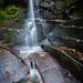 Fairy Glen Waterfall, Appley Bridge, Wigan, North West England