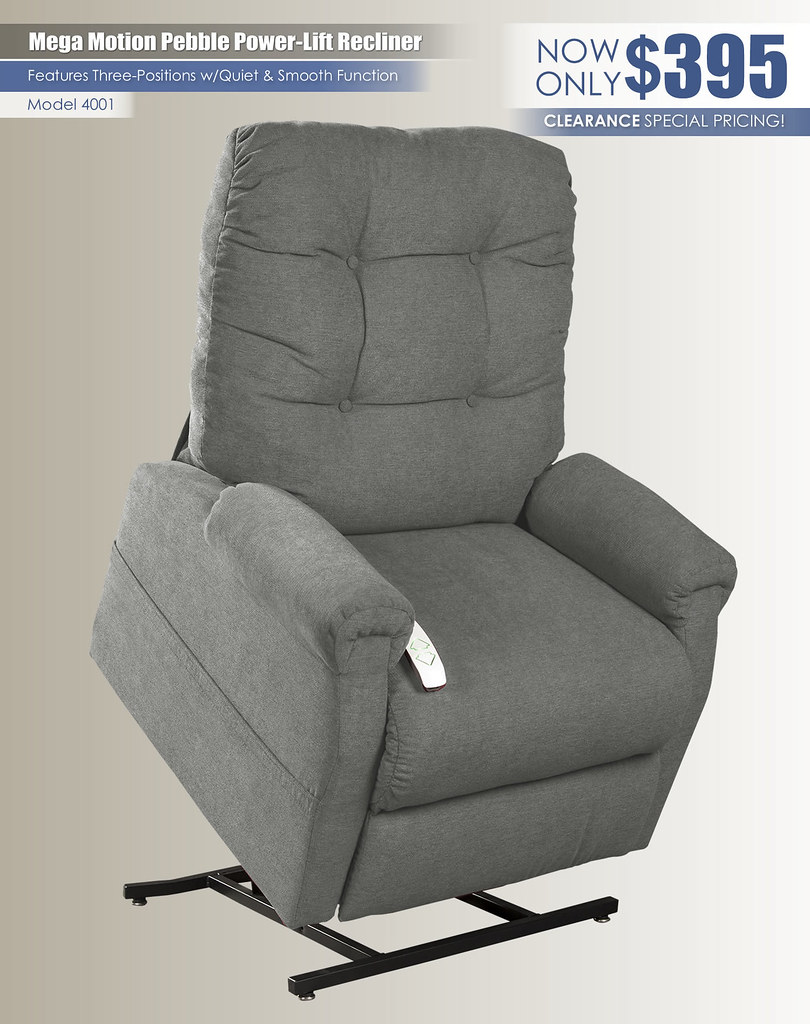 Pebble Popstitch Mega Motion Recliner Special_4001