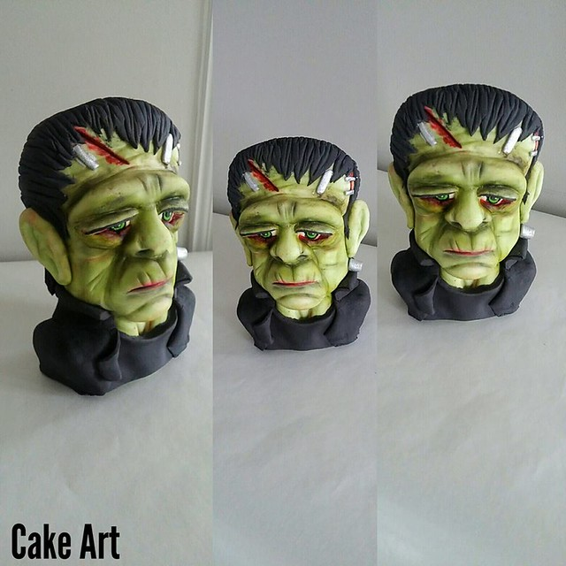 Cakenstein by Anet Gharibian of Cake Art