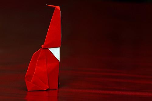 Origami Babbo 4 (Luigi Leonardi)