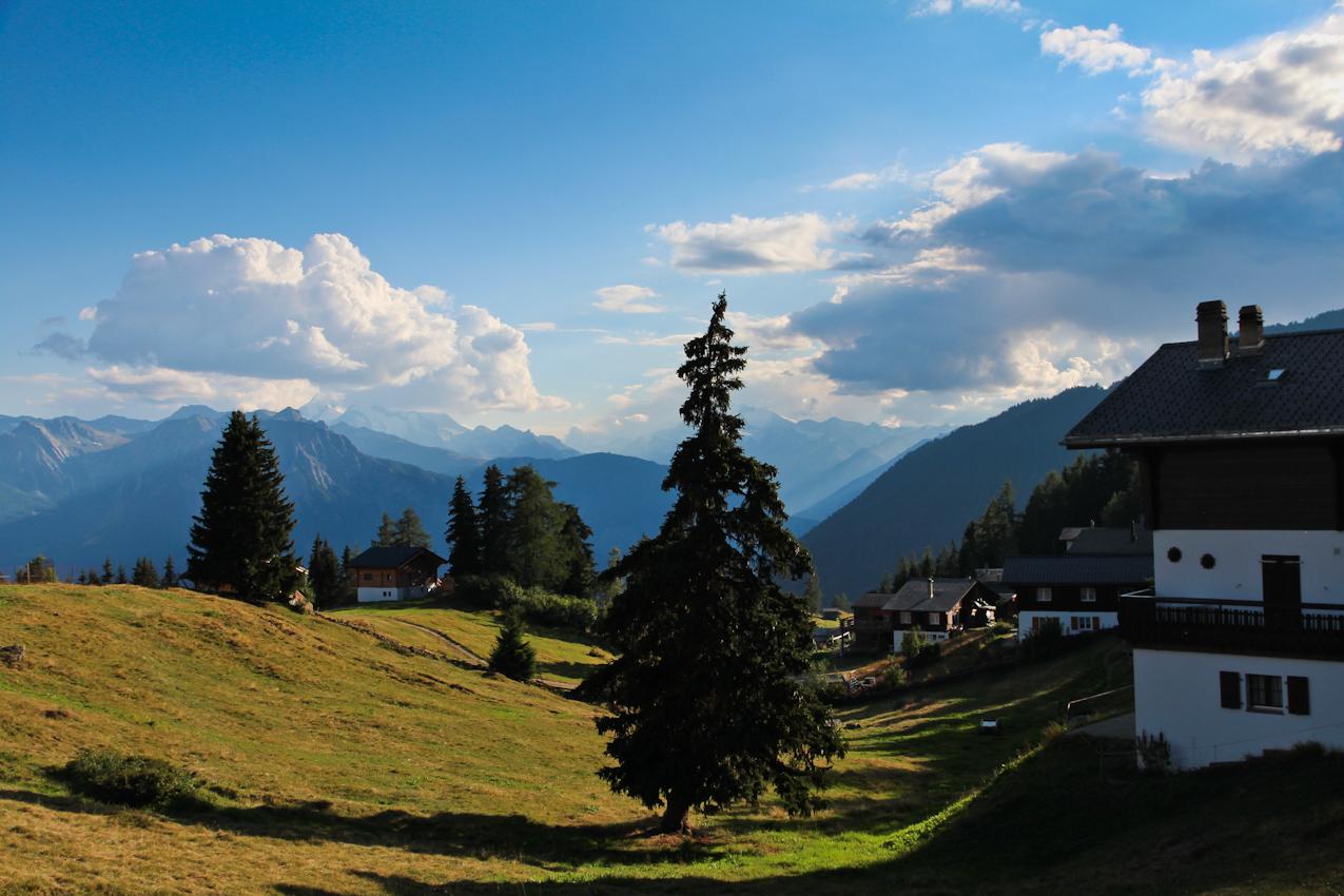 Швейцария: Прогулка рядом с облаками. Эйгер, Маттерхорн, Алетч