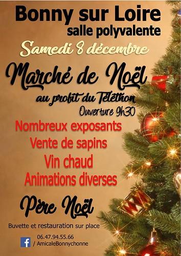 présence de Aux Portes de l'Universel au marché de Noël de Bonny sur Loire (45)