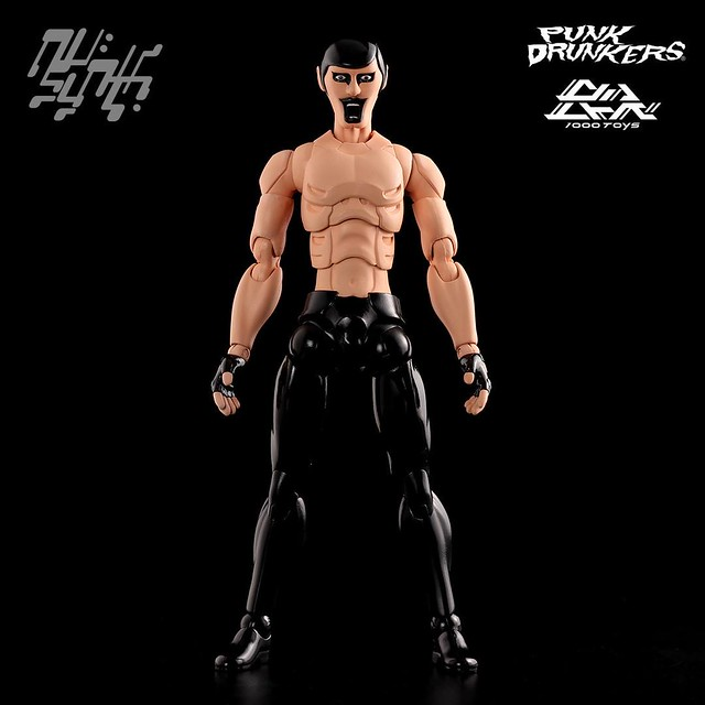 1000toys X Punk Drunkers 嶄新系列「UN:SYNTH HEROES」 1/12比例可動作品『AITSU』 !