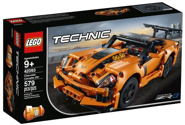性能狂暴的美國超跑王者!! LEGO 42093 科技系列【雪佛蘭 Corvette ZR1】Chevrolet Corvette ZR1
