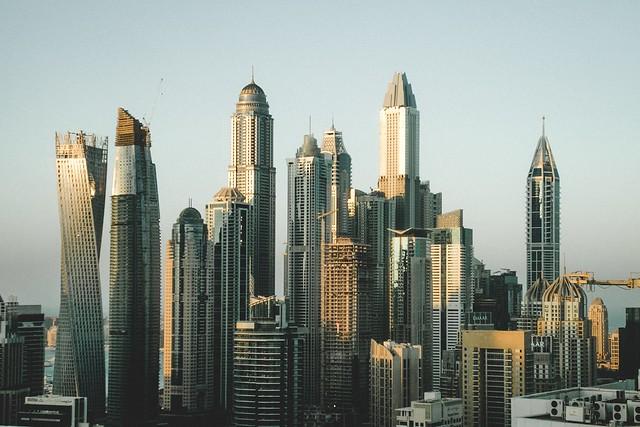 Dubái en una escala