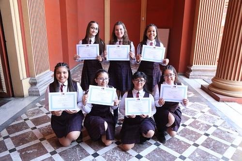 Eucaristía y Entrega de Licencias 8vo