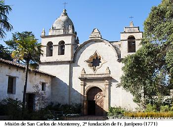 Misión OFM S. Carlos de Monterrey