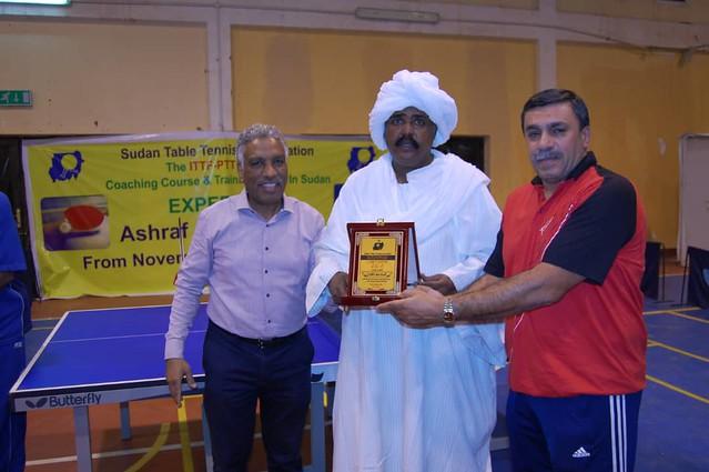 Sudan (Khartoum) - 2018 ITTF/PTT L1 Course