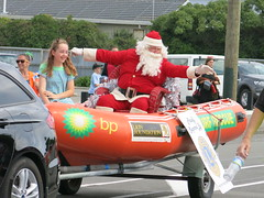 Santa at the New Brighton Christmas Parade