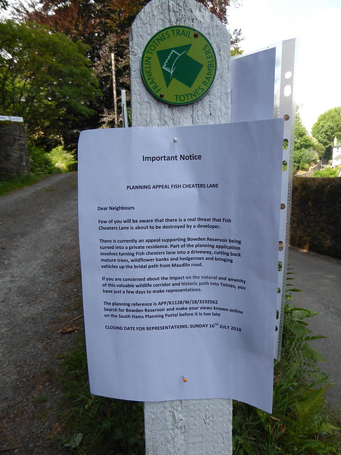 Local reaction to a planning application