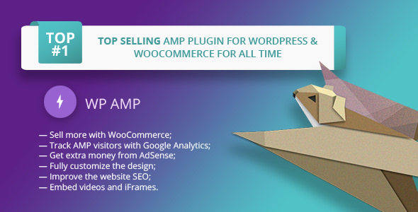 WP AMP v9.0.7 – Accelerated Mobile Pages for WordPress and WooCommerce