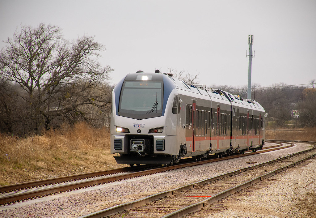 TEXRail photos - getting ready for service