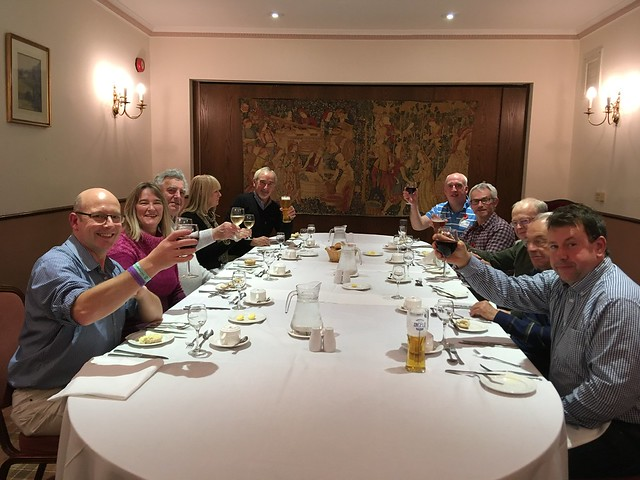 The 289 Register team dine at Nailcote Hall