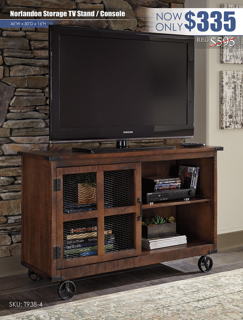 Norlandon Storage TV Stand Console_T938-4-TV