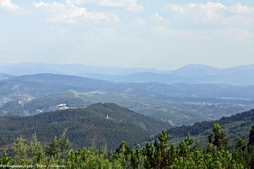Vista do Miradouro dos Moinhos de Portela de Oliveira - Portugal 🇵🇹