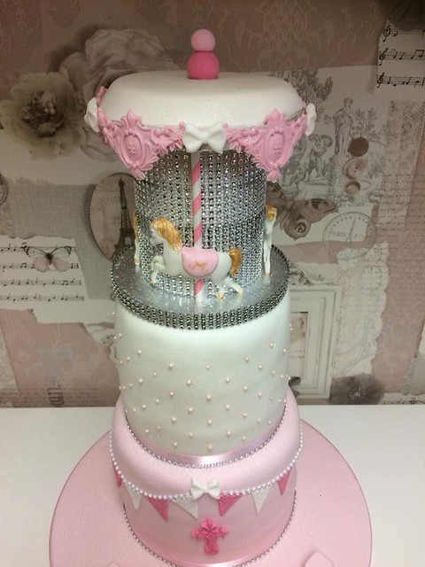 Carousel Cake by Just Christening Cakes