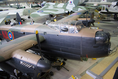 Avro Lancaster at the IWM Museum, Duxford