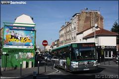 Irisbus Citélis 18 - RATP (Régie Autonome des Transports Parisiens) / STIF (Syndicat des Transports d'Île-de-France) n°8574