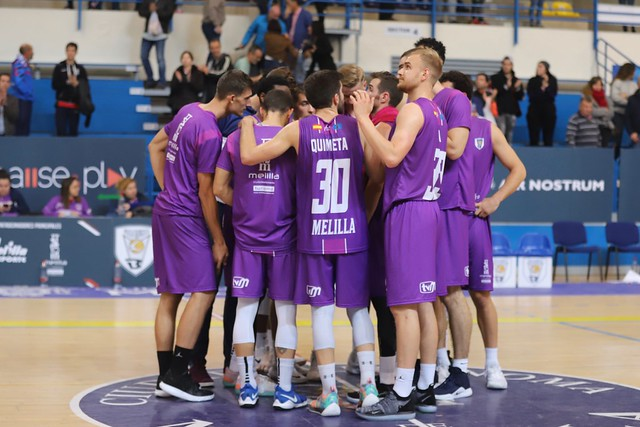JORNADA 10 | Club Melilla Baloncesto - Carramimbre Valladolid (ORO 18/19)