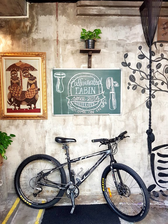 @ Caffeinated Cabin PJ Jalan Gasing