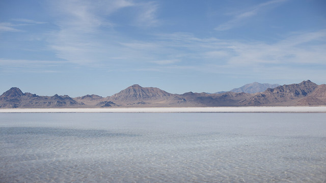 Winter Bonneville Salt Flats