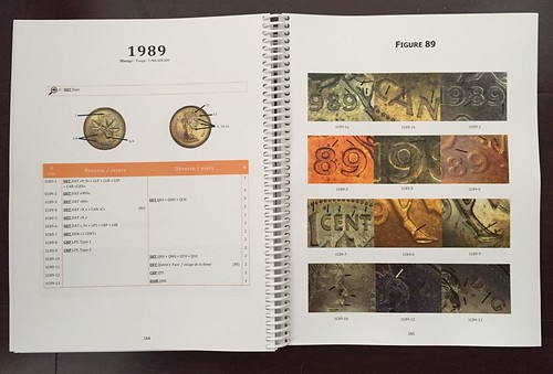Guide to Errors and Varieties on Canadian Coins sample pages