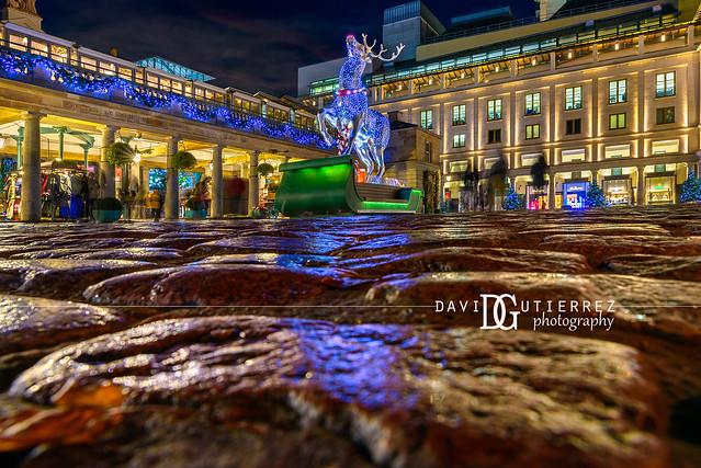 Deer Santa - Covent Garden, London, UK