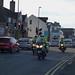 West Midlands Police motorcycle convoy - Harborne Road, Edgbaston