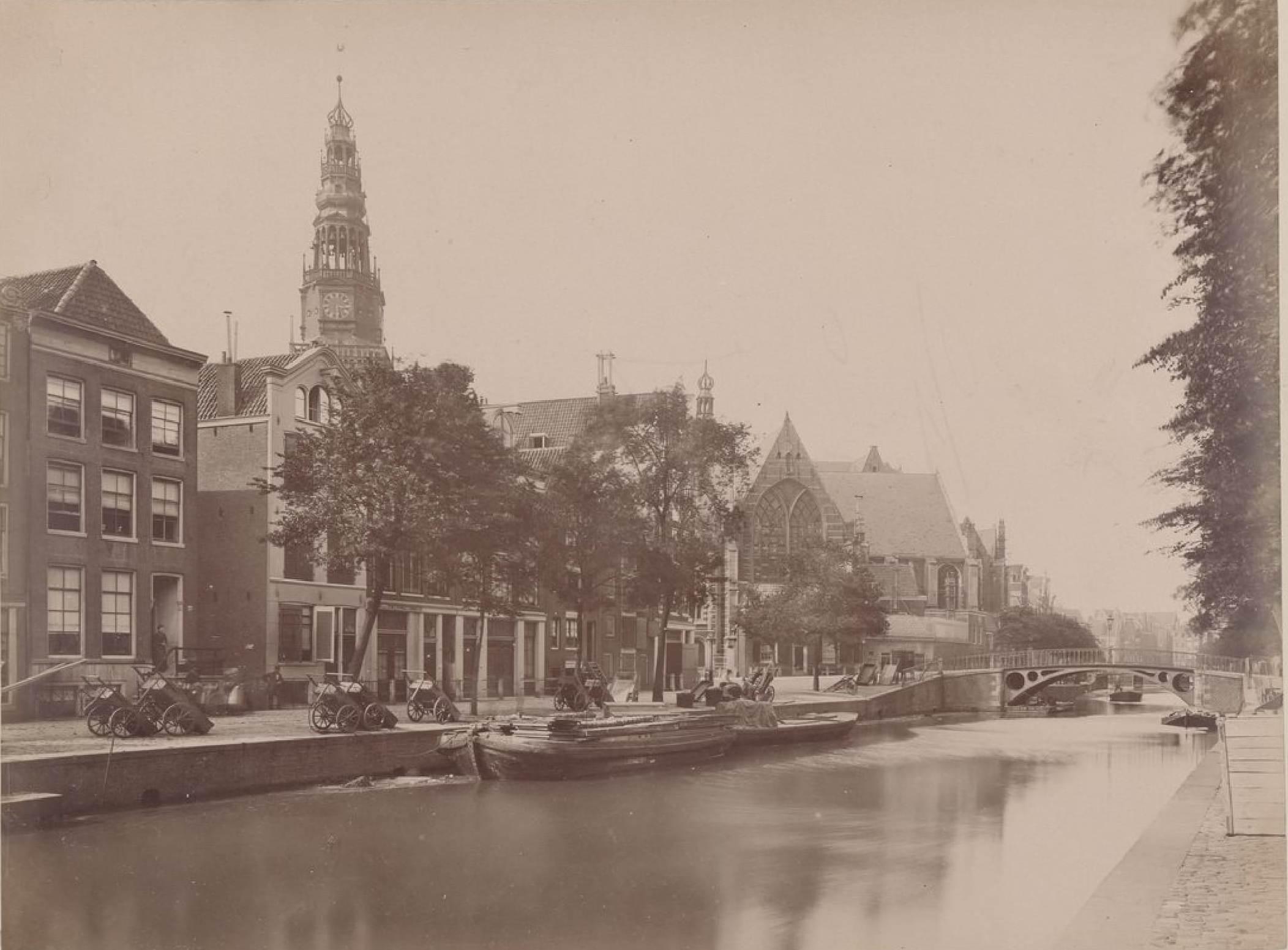 Амстердам. Старая церковь, 15 мая 1888