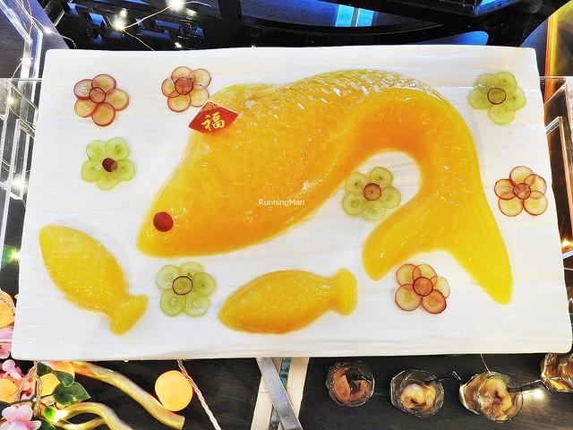 Orange Jelly Koi