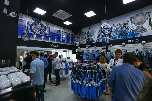 Inauguração nova loja GremioMania Centro de Porto Alegre