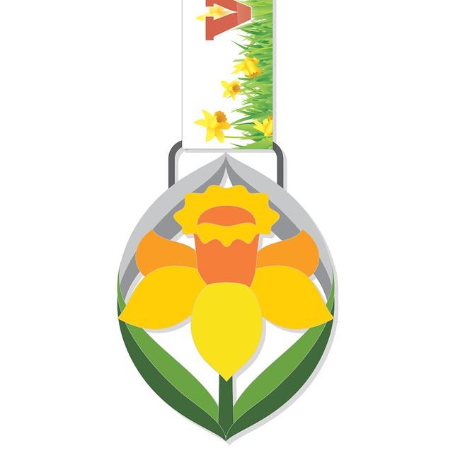 Daffodil Dash medal