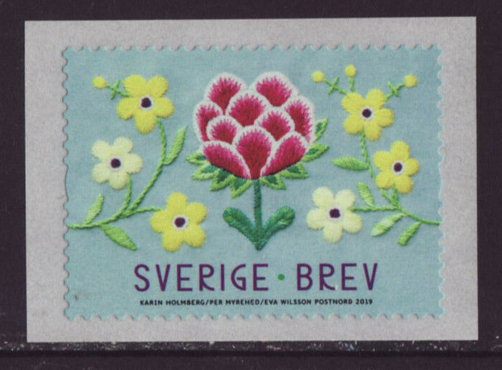 Sweden - The Power of Handicrafts (January 10, 2019) coil stamp