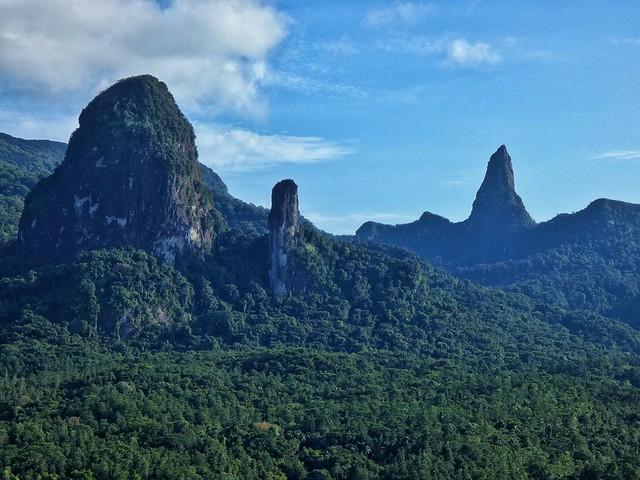 Paisajes de la isla de Príncipe desde el Mirador de Sao Joaquim