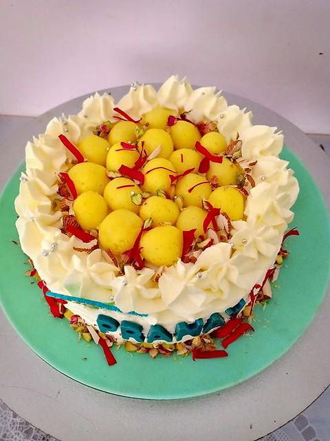 Rajbhog Cake by Bijal Joshi