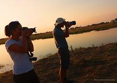 sunset photographers (Botswana)