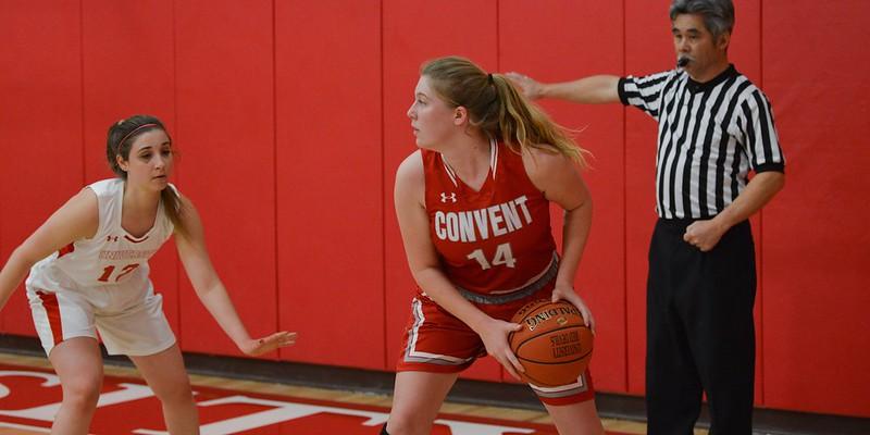 Convent Varsity Basketball vs. University, Jan. 8, 2019
