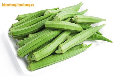 Người bệnh tiểu đường type 2 nên ăn rau đậu bắp hàng tuần