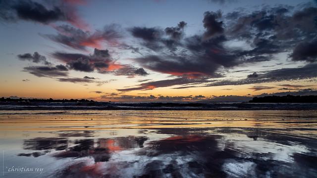 Sunset at Playa de Troya (Canarias Islands)