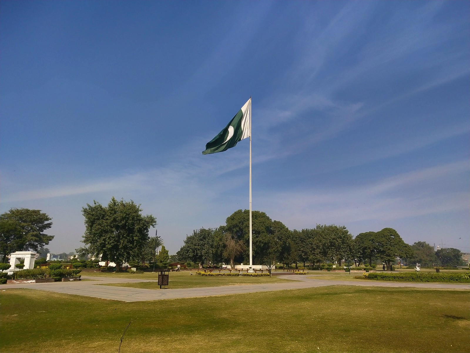 Pakistan Flag Picture with HDR mode on Vivo V11 Pro
