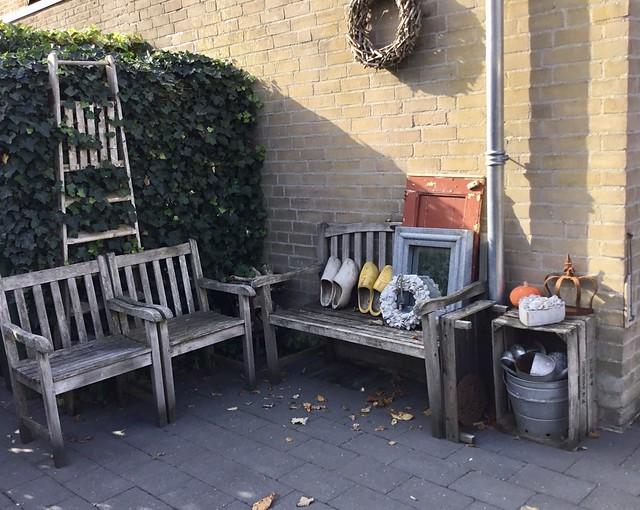 Houten tuinmeubilair