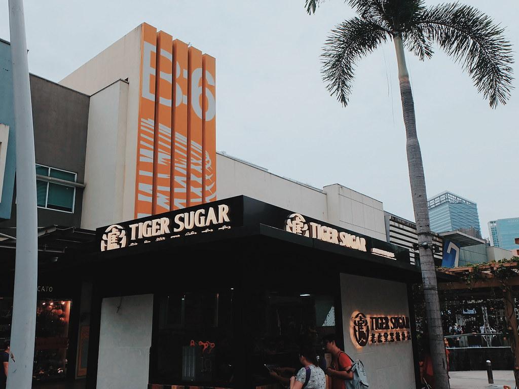 tiger sugar milk tea philippines menu