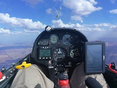 Awesome cross-country soaring conditions!