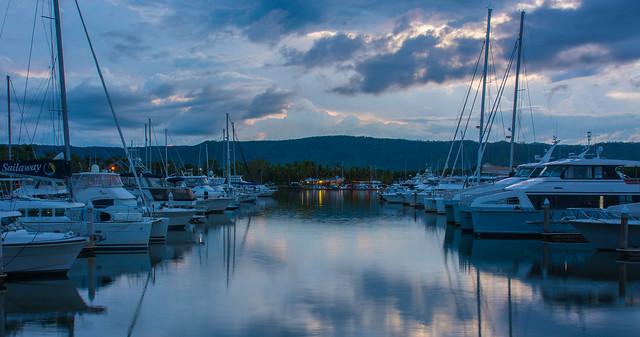 Port Douglas marina at, Nikon D7100, AF Zoom-Nikkor 24-120mm f/3.5-5.6D IF