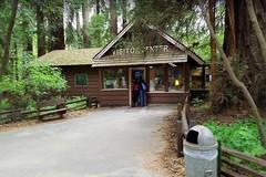 USA, la Californie, le parc Roaring Camp Railroads