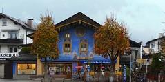 Garmisch (Bayern, D) - Das blaue Haus